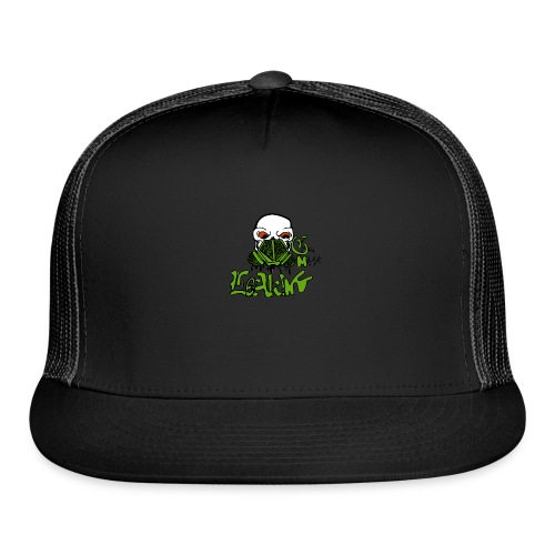 Leaking Gas Mask - Trucker Cap