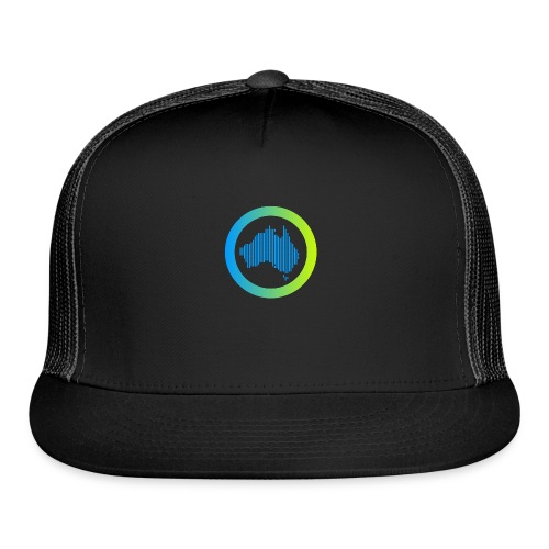 Gradient Symbol Only - Trucker Cap