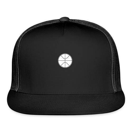 Basketball black and white - Trucker Cap