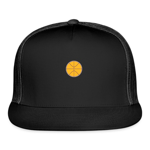 Basketball purple and gold - Trucker Cap