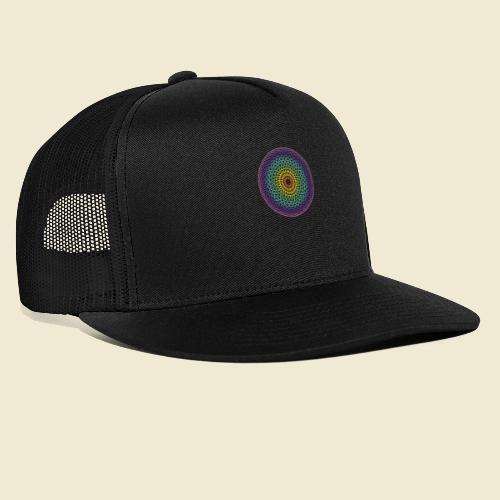 Torus Yantra Hypnotic Eye rainbow - Trucker Cap