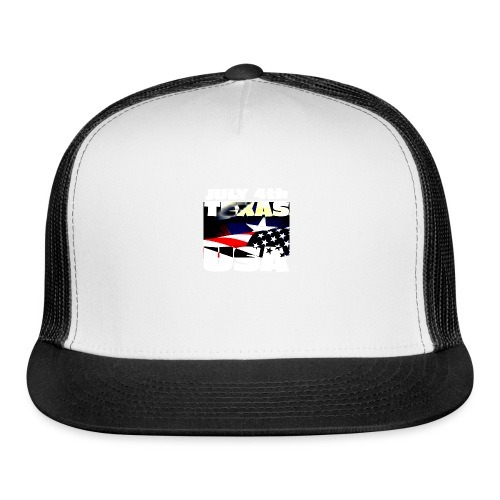 July 4th Texas USA - Trucker Cap