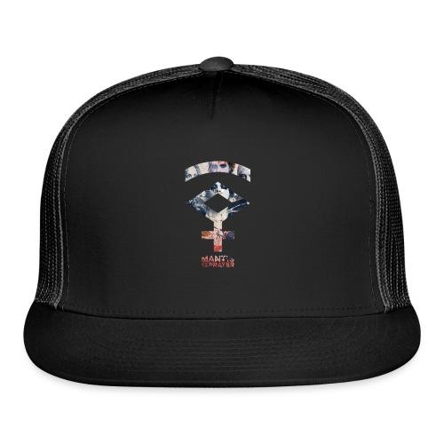 Mantis and the Prayer- Symbol Design - Trucker Cap