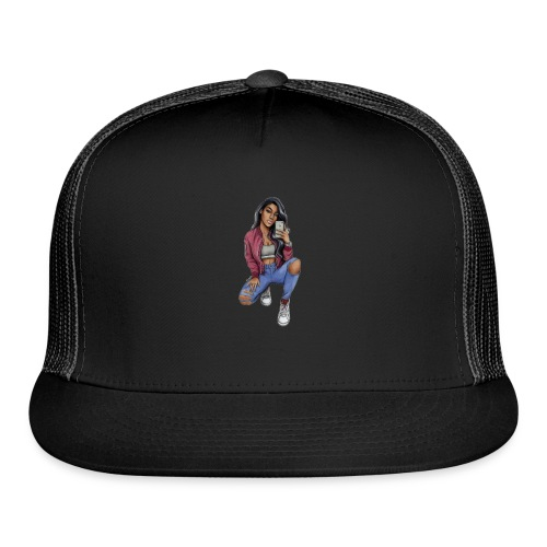 #Silhouette - Trucker Cap