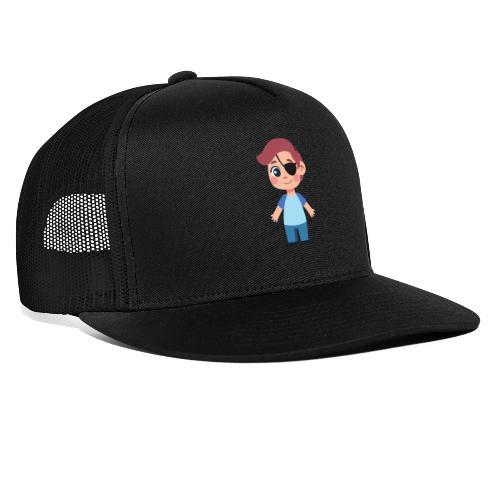 Boy with eye patch - Trucker Cap