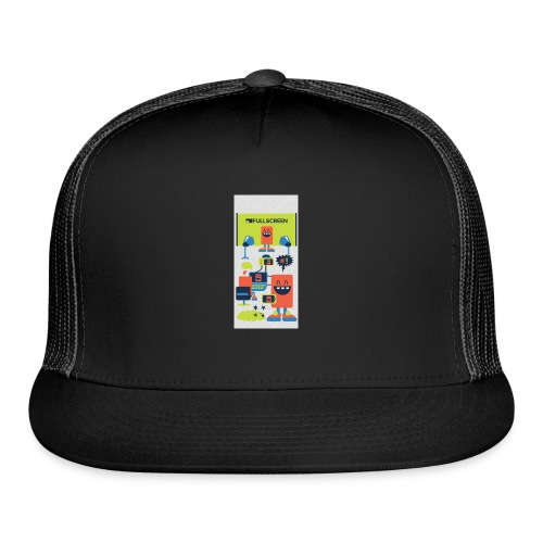 iphone5screenbots - Trucker Cap