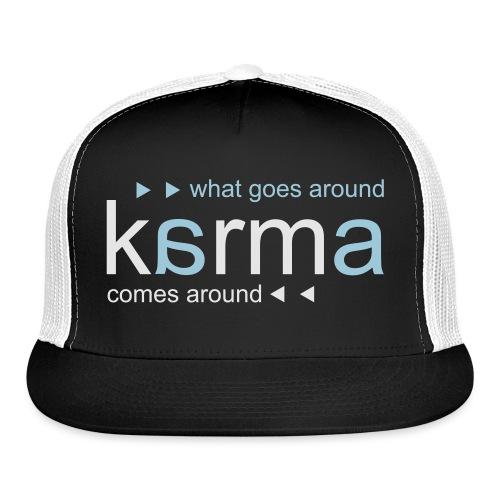 Karma Blue - Trucker Cap