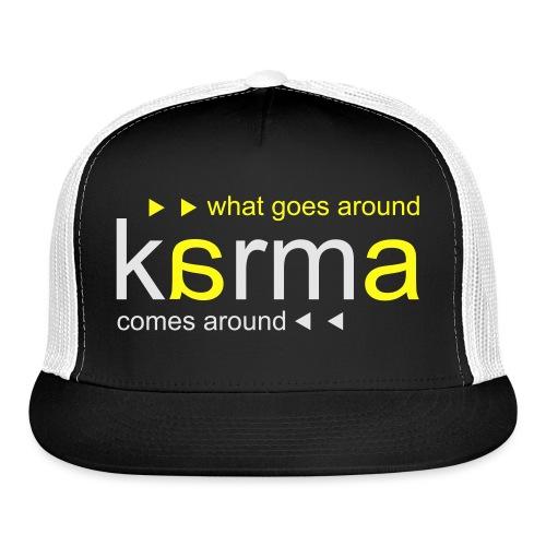 Karma Yellow - Trucker Cap