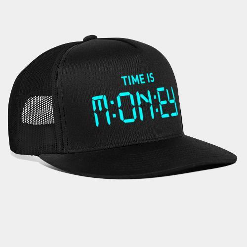 time money - Trucker Cap