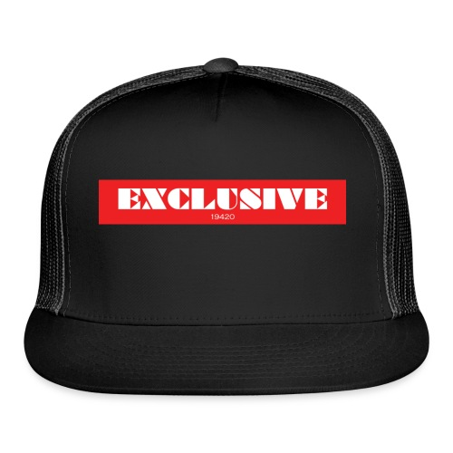 exclusive - Trucker Cap