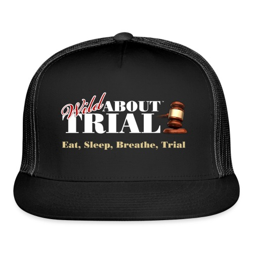 WAT - Eat, Sleep, Breathe, Trial - SALMON EDITION - Trucker Cap
