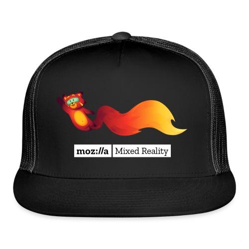 Foxr Flying (white MR logo) - Trucker Cap