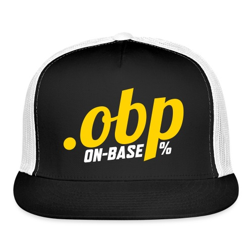 OBP On Base Percentage - Trucker Cap