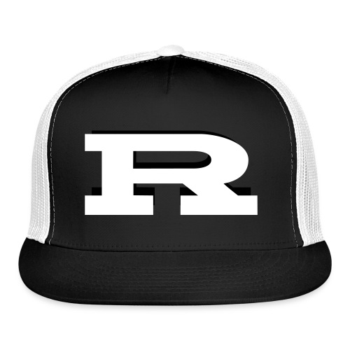 Rocket Sleeve Design - Trucker Cap