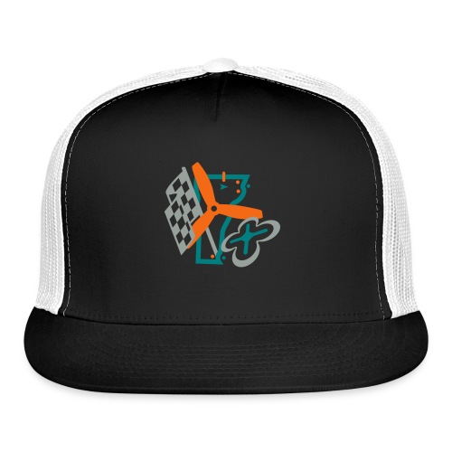 Multirotor Vermont (simplified shadowless) - Trucker Cap