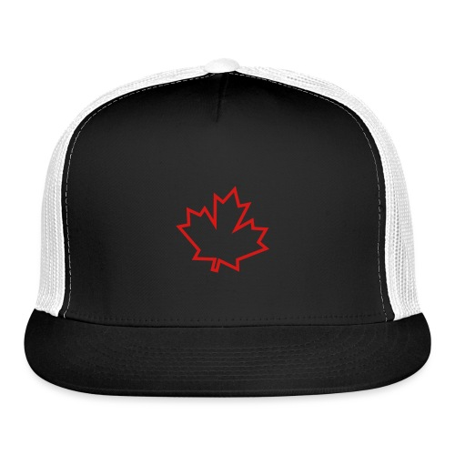 Maple Leaf Outline - Trucker Cap