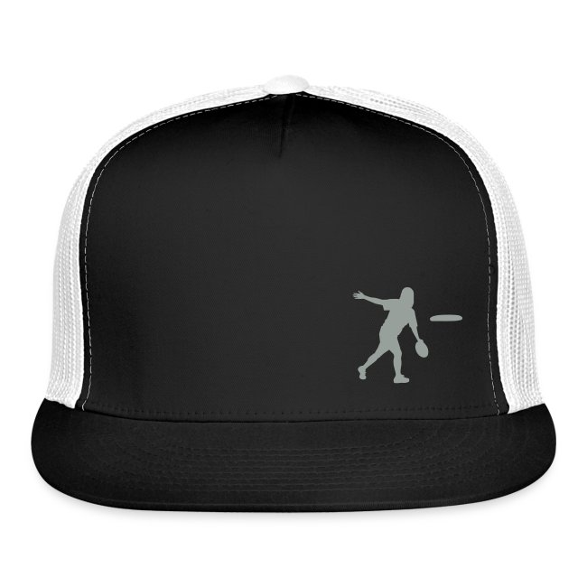 Ultimate Frisbee Hat: Backhand Silhouette