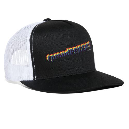 #proudpride2019 dark - Trucker Cap