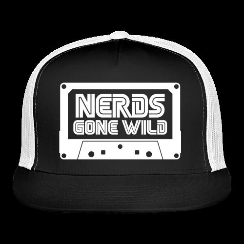 Nerds Logo Cassette White - Trucker Cap