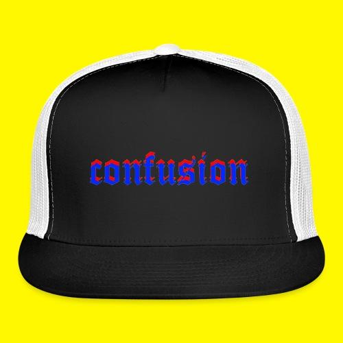 3D confusion - Trucker Cap