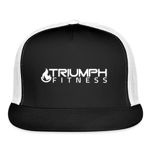 triumph 03 clear white - Trucker Cap