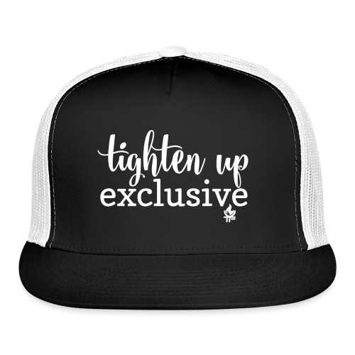 tighten up exclusive white clear - Trucker Cap