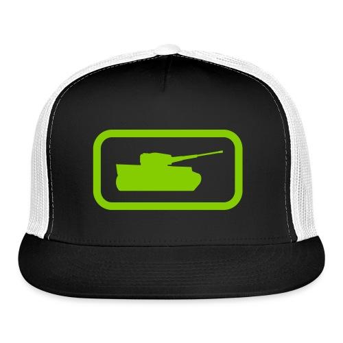 Tank Logo - Multi-Color - Axis & Allies - Trucker Cap
