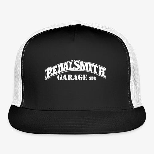 Pedal Smith Garage White - Trucker Cap