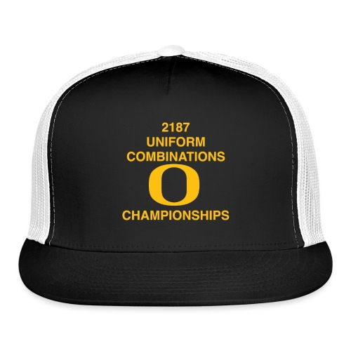 2187 UNIFORM COMBINATIONS O CHAMPIONSHIPS - Trucker Cap