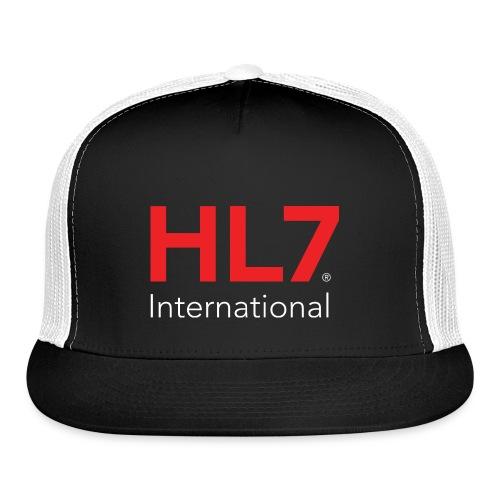 HL7 International Logo - Reverse - Trucker Cap