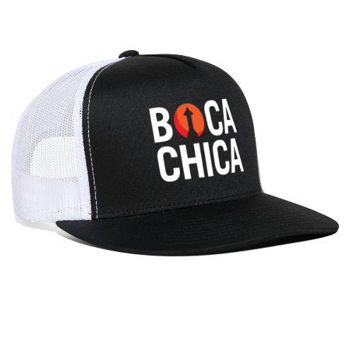 Boca Chica Starship Mars Silhouette - Trucker Cap