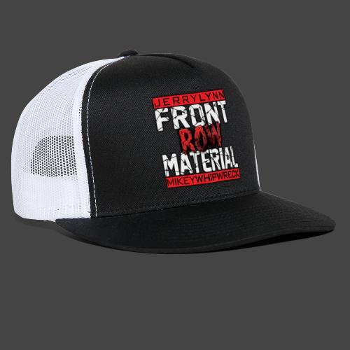 Front Row Material Logo - Trucker Cap