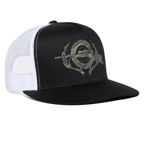 Camouflage Hunting and Shooting Sports Logo - Trucker Cap