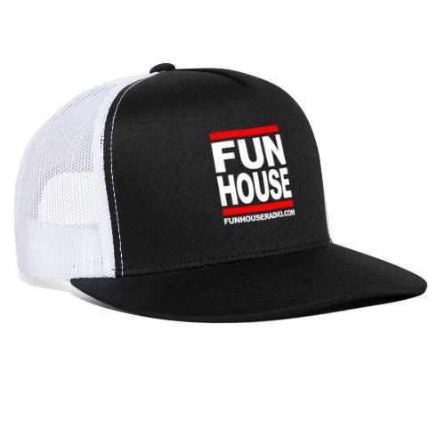 Fun House Radio Square Design - Trucker Cap
