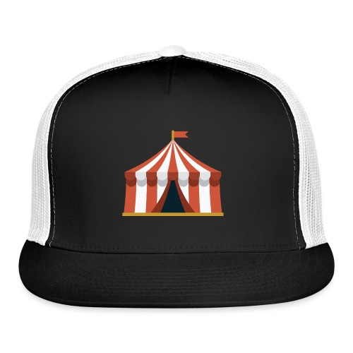 Striped Circus Tent - Trucker Cap
