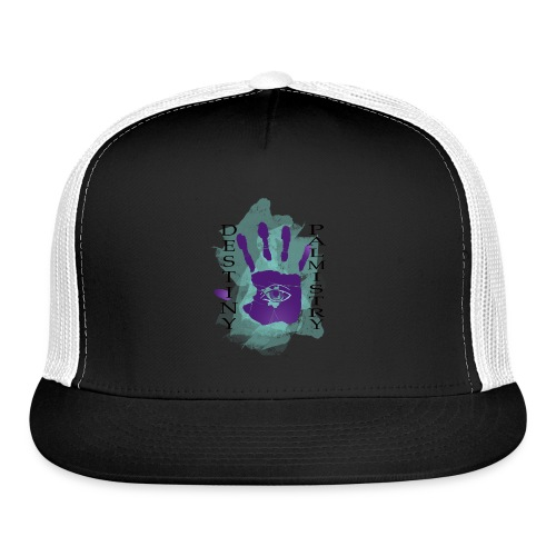 logo destiny new design 2 - Trucker Cap