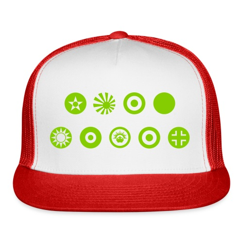 Axis & Allies Country Symbols - One Color - Trucker Cap