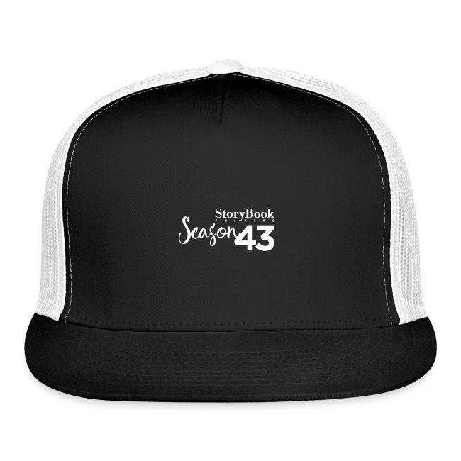 SBT43 Season43 LOGO WHT