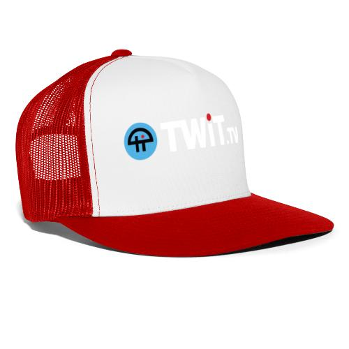 TWiTtv White Logo - Trucker Cap