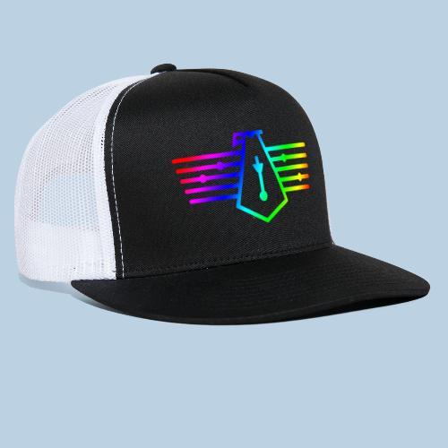 Westport Bird Rainbow on transparent - Trucker Cap