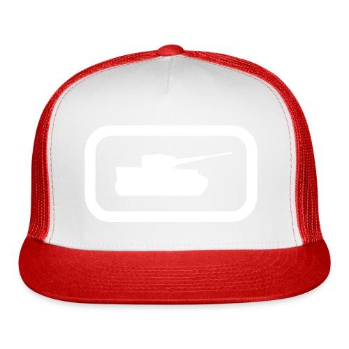 Tank Logo (White) - Axis & Allies - Trucker Cap