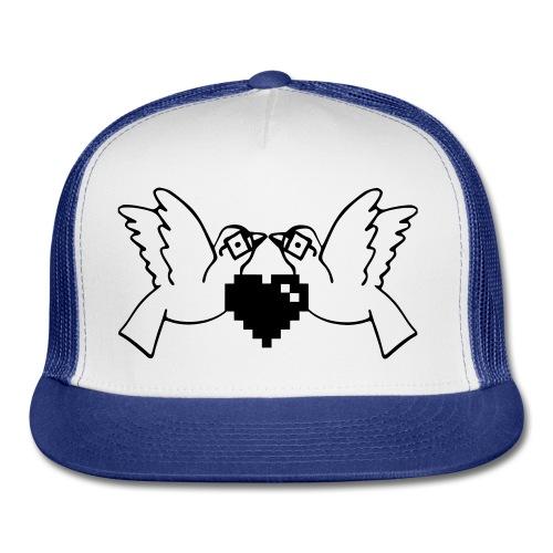 Love Nerds Gaming Blk/Wht - Trucker Cap
