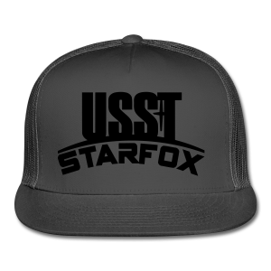 USST STARFOX Text - Trucker Cap
