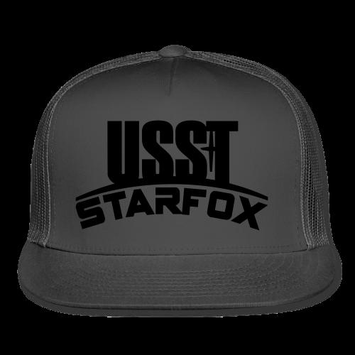 USST STARFOX Text - Trucker Cap