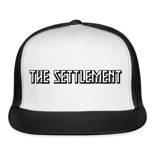 Band Name (Two-Color) | The Settlement - Trucker Cap