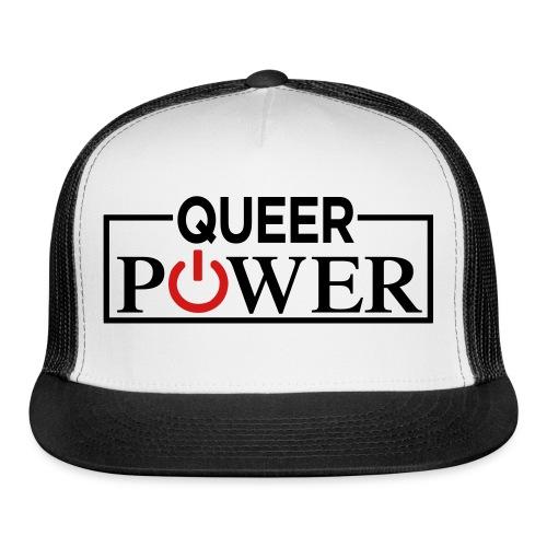 Queer Power Tshirt 04 - Trucker Cap