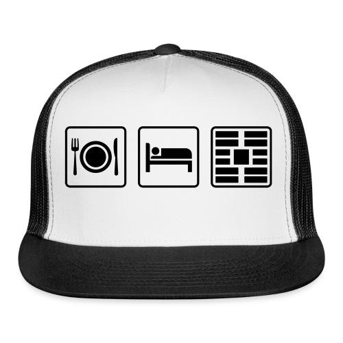 Eat Sleep Urb big fork - Trucker Cap