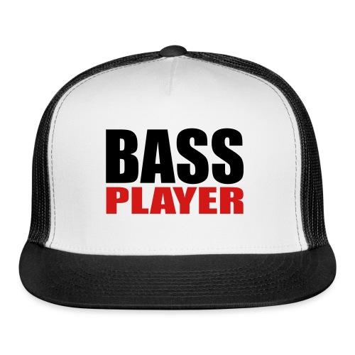 Bass Player - Trucker Cap