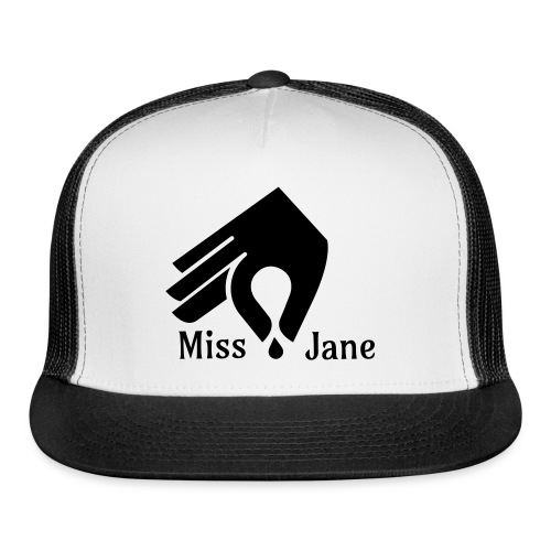 Miss Jane Seed - Black Caps - Trucker Cap