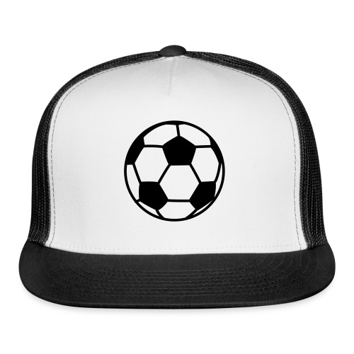 custom soccer ball team - Trucker Cap